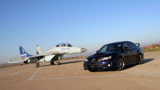 Subaru WRX STI VS Mig 35 (english version)