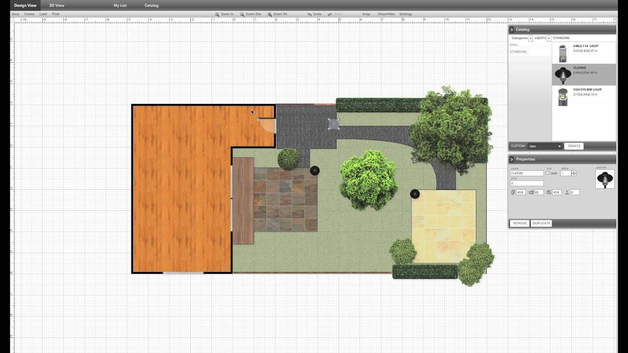 Tuinvisie 39 s 3d online tuinontwerp uitgebreide versie youtube - Tuinontwerp ...