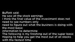 FSCFL - Fifth Street Finance Corp  FSCFL buy or sell Buffett read basic