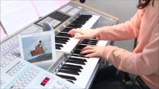 ようやくこの曲の楽譜が月刊エレクトーン3月号に載りました。練習して、...