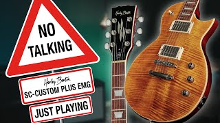 Harley Benton - No Talking - SC-Custom Plus EMG - Just Playing