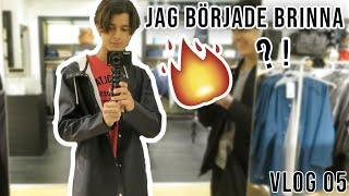 Jag började brinna   Vlog 05