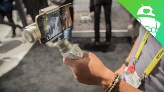 DJI Osmo Mobile Silver  Get the most out of your smartphone camera