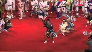 """同じ阿呆なら踊りゃな損々っ♪♪」 """"江戸っ子連"""" (本場阿波「阿呆連」の姉..."""