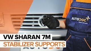 Fitting Anti roll bar bush kit VW SHARAN (7M8, 7M9, 7M6): free video