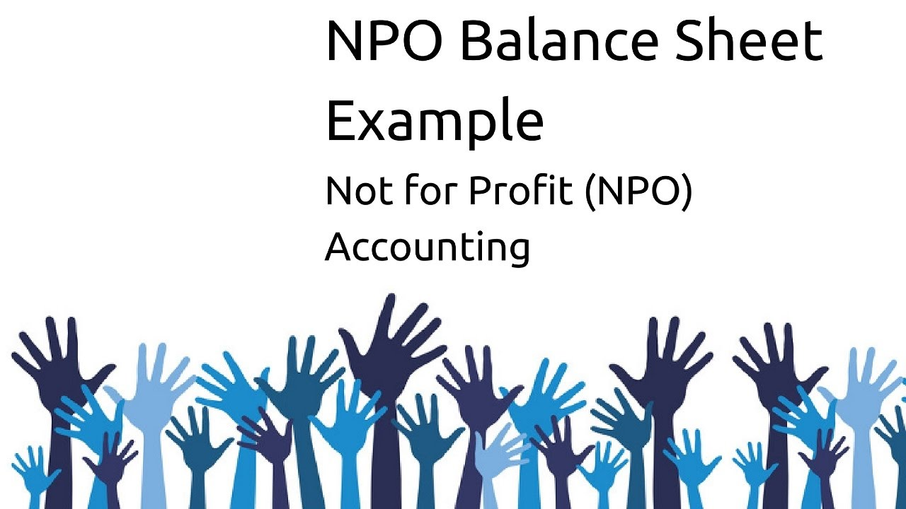 Example Balance Sheet Of NPO | Non Profit Organsiation | CA CPT | CS U0026 CMA  Foundation | Class 12