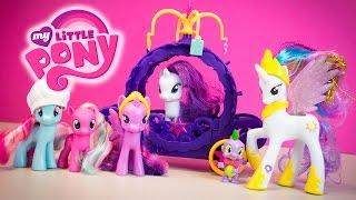 My Little Pony Toys MLP Storytime Rarity's Royal Birthday Surprise Kinder Playtime