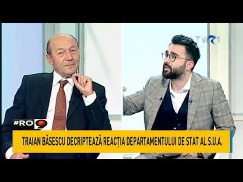 Traian Băsescu, despre reacţia Departamentului de Stat al SUA şi legile Justiţiei