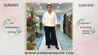 30 04 2021 Часть 2 Показ женской одежды больших размеров DARKWIN от DARKMEN Турция Стамбул