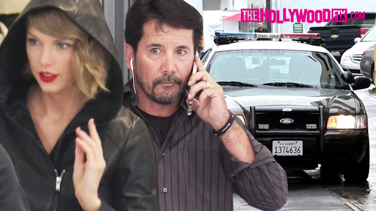 Taylor Swift S Bodyguard Calls The Cops On Fans Paparazzi At Saint Laurent On Rodeo Drive Youtube