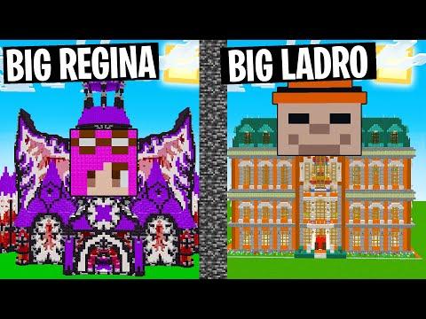 CASA BIG REGINA VS CASA BIG LADRO - MINECRAFT ITA