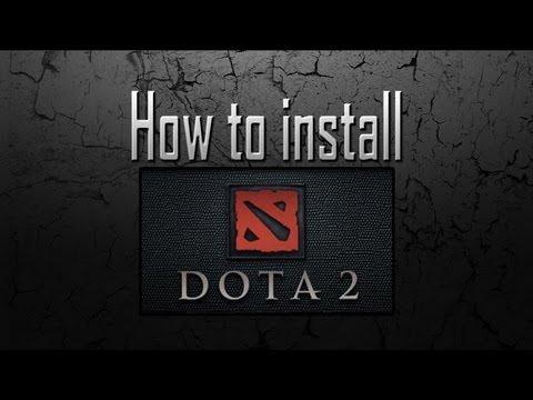 How to install DotA 2
