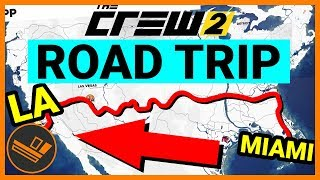 One of Flabaliki's most viewed videos: The Crew 2 CROSS COUNTRY ROAD TRIP (Florida to Los Angeles) - Gameplay
