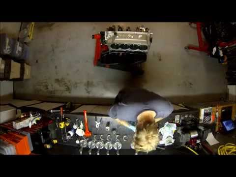 706 Cubic Inch Big Block Chevy Race Engine Build GoProHD