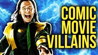 Top 10 Best Comic Book Movie Villains
