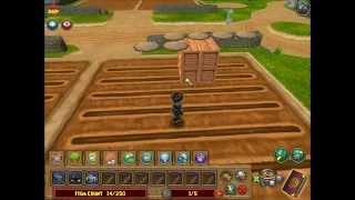 Wizard101 - Building A Standard 69-plot Stacking Garden