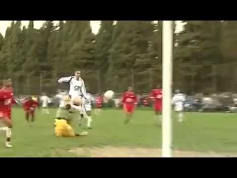 Karim Benzema - Epic goal on youth divisions of Lyon