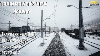 Фото Train Driverand39s View Premiere Flirting To The Workshop In Sundland Part 2 Of 2