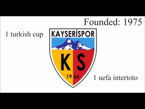 ΥΜΝΟΣ ΚΑΪΣΕΡΙΣΠΟΡ / ANTHEM OF KAYSERISPOR CLUB / MARŞI KAYSERİSPOR KULÜBÜ