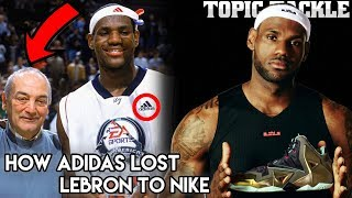 The Cheap Mistake that Cost Adidas LeBron James