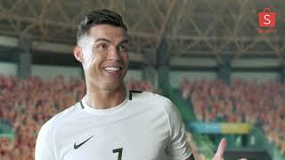 Cristiano Ronaldo CR7 Quảng Cáo Shopee Việt Nam 2019
