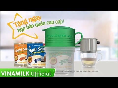 Quảng cáo Sữa Vinamilk – Sữa Ngôi Sao Phương Nam (MN) – Tặng hộp bảo quản cao cấp