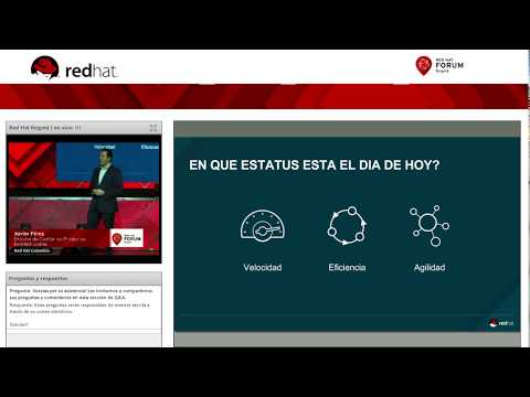 Keynote Red Hat Forum Colombia