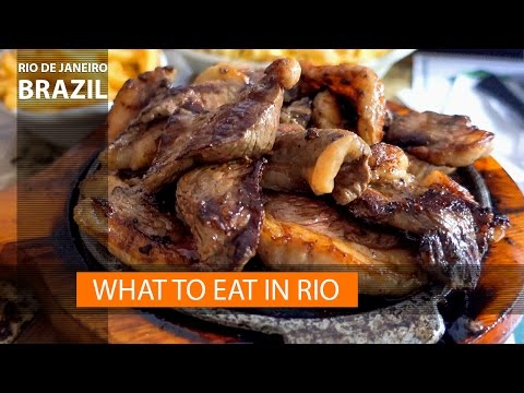 Brazilian food and what to eat in Rio de Janeiro