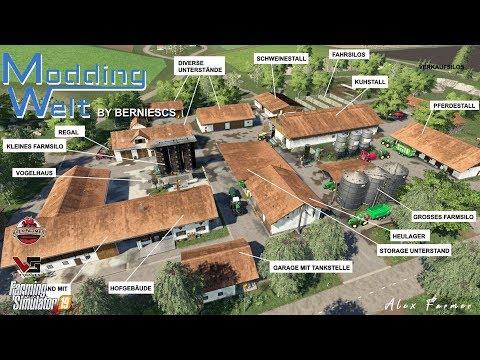 PLACEABLE HOF BY MODDING WELT FARMING SIMULATOR 19 PC VERSION