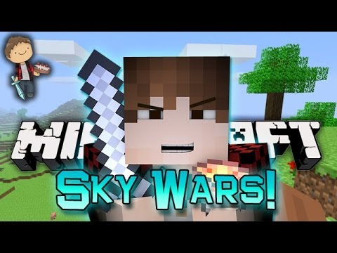 Minecraft: Funny SkyWars PVP Mini-Game w/Mitch & Friends!