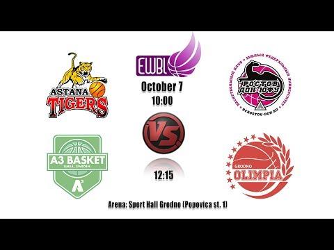 A3 Basket vs Olimpia Grodno 07.10.2018
