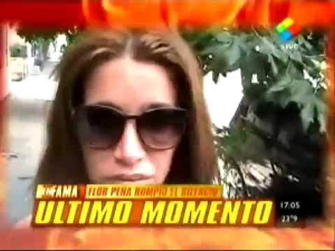 Florencia Peña habló del video