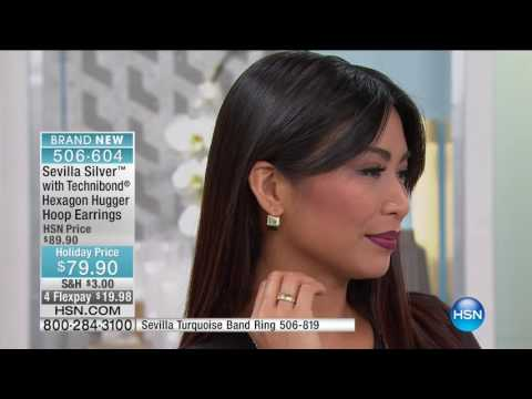 HSN | Sevilla Silver Jewelry with Technibond 10.04.2016 - 02 AM