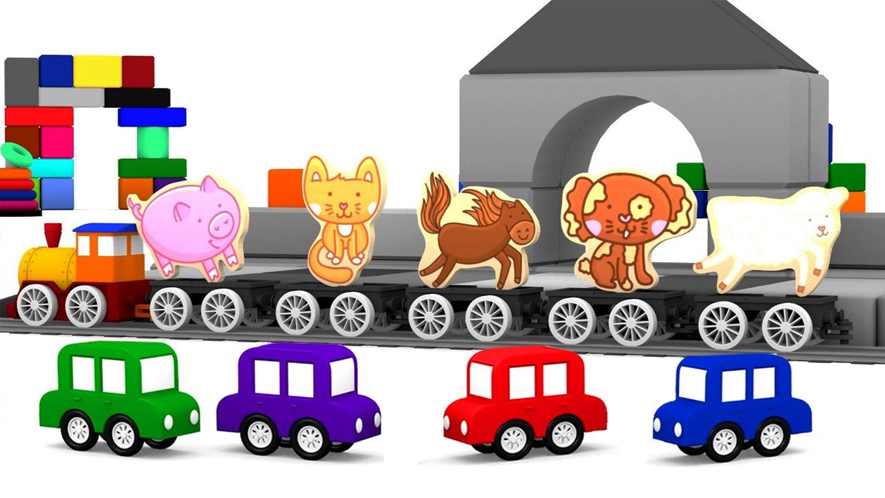 Cartoni animati per bambini i puzzle delle macchinine