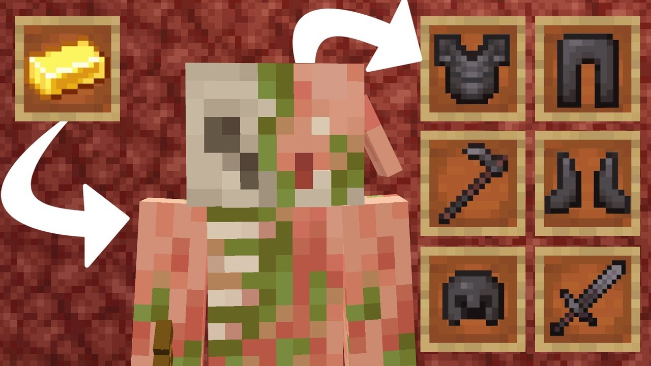 Download Wie baut man eine automatische Piglin Handel Farm in Minecraft 1.16 | Minecraft für Anfänger LarsLP