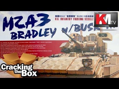 Unboxing Meng's M2A3 Bradley w/ TUSK III
