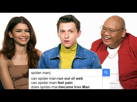 Tom Holland, Zendaya & Jacob Batalon Answer the Webs Most Searched Questions | WIRED