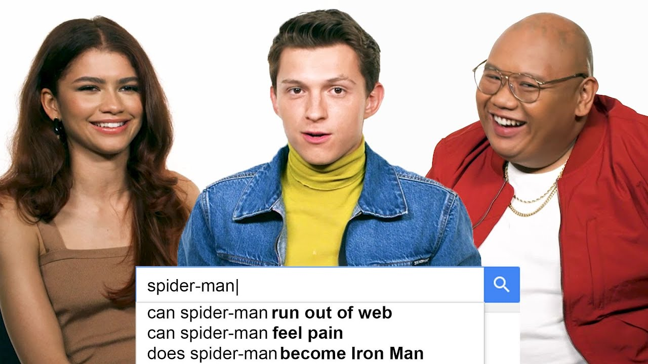 Download Tom Holland, Zendaya & Jacob Batalon Answer the Web's Most Searched Questions | WIRED