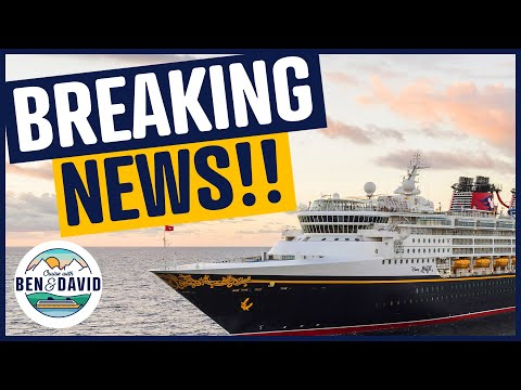 HUGE Cruise News: USA, Caribbean, UK and Disney Cruise Line and MORE!