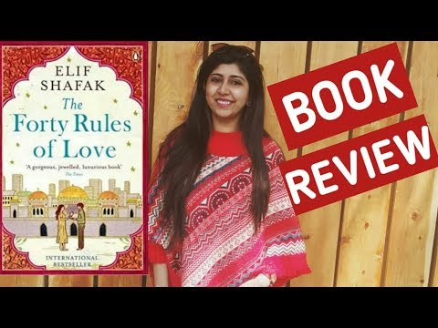 40 Rules Of Love  By Elif Shafak || Book Review