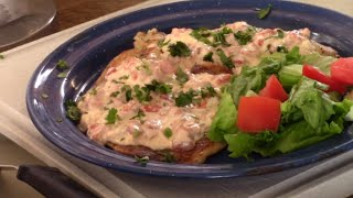 Grilled Tilapia With a Creamy Chili Sauce