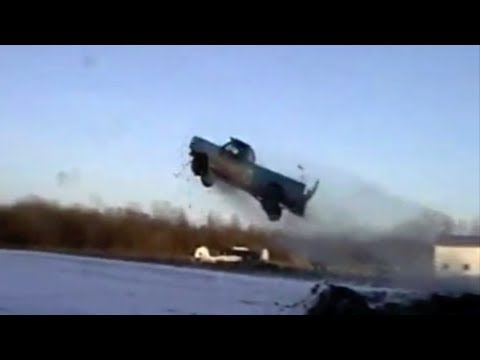 Rednecks Jump Trucks - CAR and DRIVER