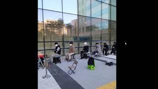 법원 앞에서 밤새 이만희 기다리는 신천지 신도들: 포토…