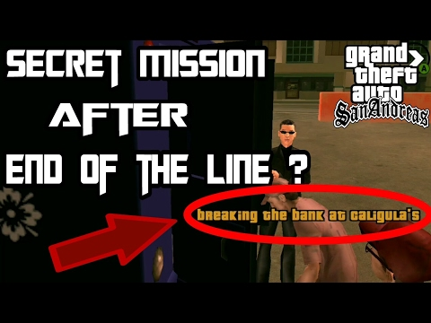 Misi Rahasia Gta San Andreas Secret Mision After End Of The Line