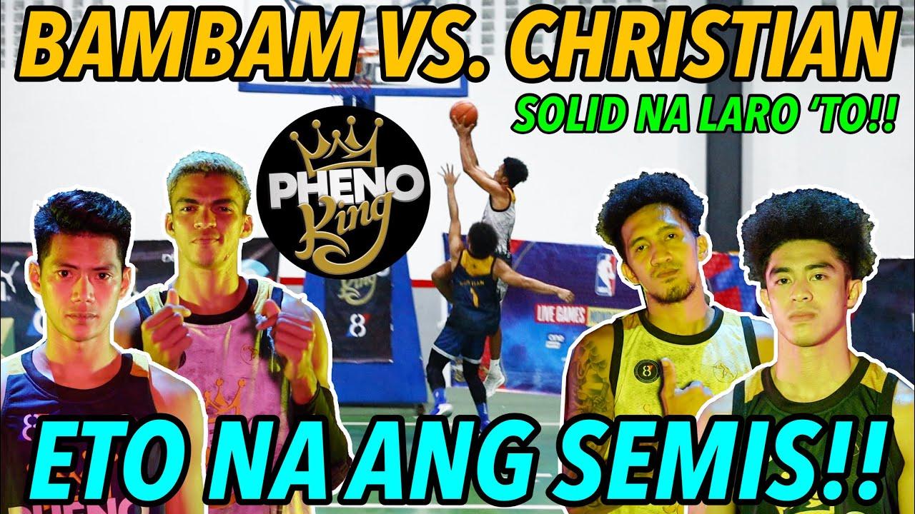 BAMBAM VS. CHRISTIAN - SEMIS NA!! - SOLID NA LARO!! (PK: Episode 16)   S.2. vlog 147