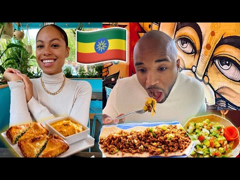 COUPLES Try ETHIOPIAN Food For The FIRST Time! *OMG*