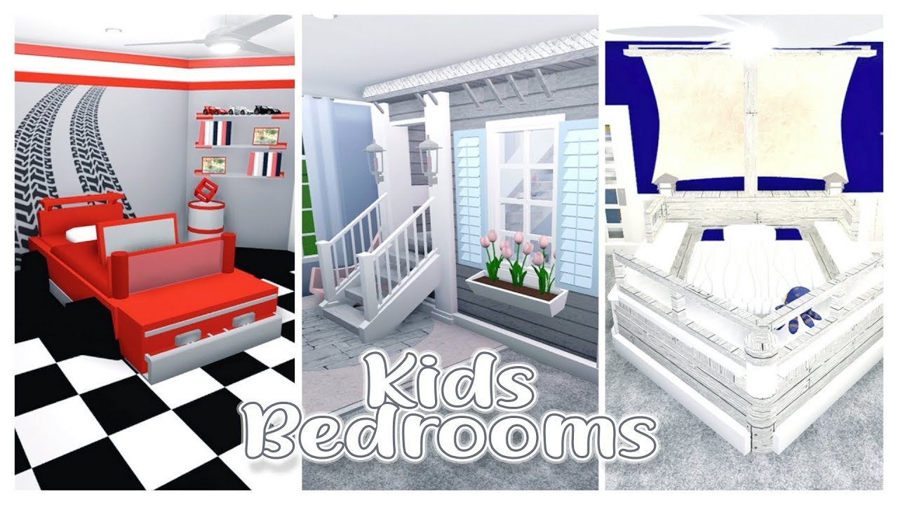 Bloxburg Themed Builds Kids Rooms Pt3 Youtube