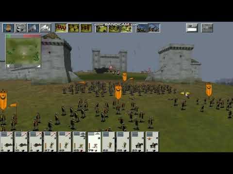 Medieval Total War. Фракция Альмохады 29-я серия Штурм замка во Франконии.