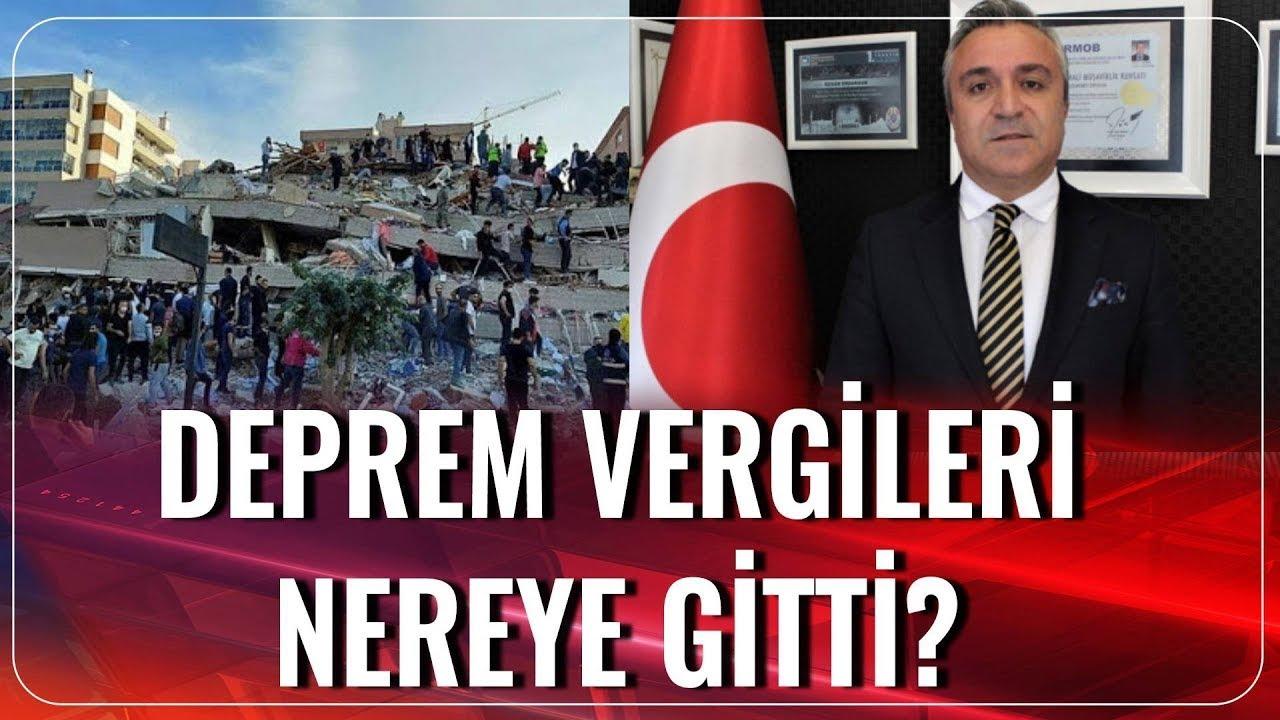 Deprem Vergileri Nereye Gitti? | Özgür Erdursun | Akşam Haberleri | 02.11.2020