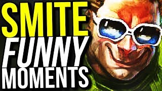 75% CDR HE BO SHOULDN'T BE ALLOWED! (Smite Funny Moments)